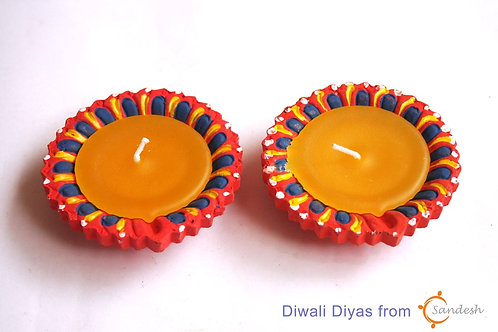 Set of 2 | Diwali Diya