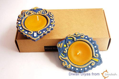 Set of 2   Diwali Diya