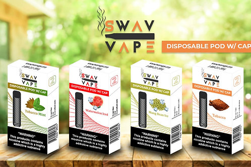 Swav Vape - Disposable Pod TOBACCO MINT