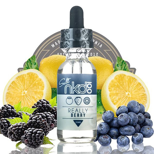 NAKED 100 REALLY BERRY 60ml.