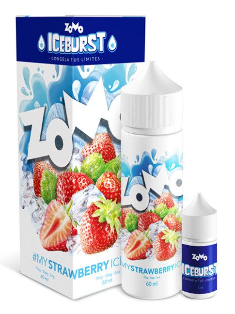 LIQUIDO ZOMO - MY STRAWBERRY ICE. 30ml