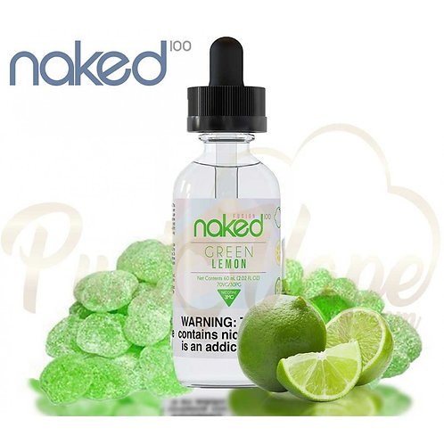 NAKED 100 GREEN LEMON 60ml.