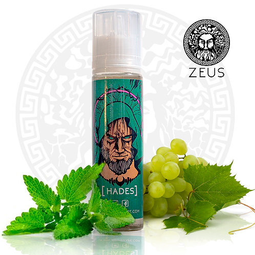 ZEUS - HADES 60ml. Liquido Nacional PREMIUM
