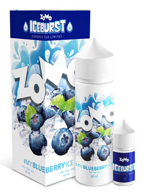 LIQUIDO ZOMO - MY BLUEBERRY ICE. 30ml
