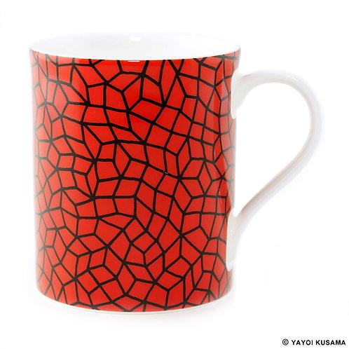[ Yayoi Kusama product ] Yayoi Kusama Net Mug Cup