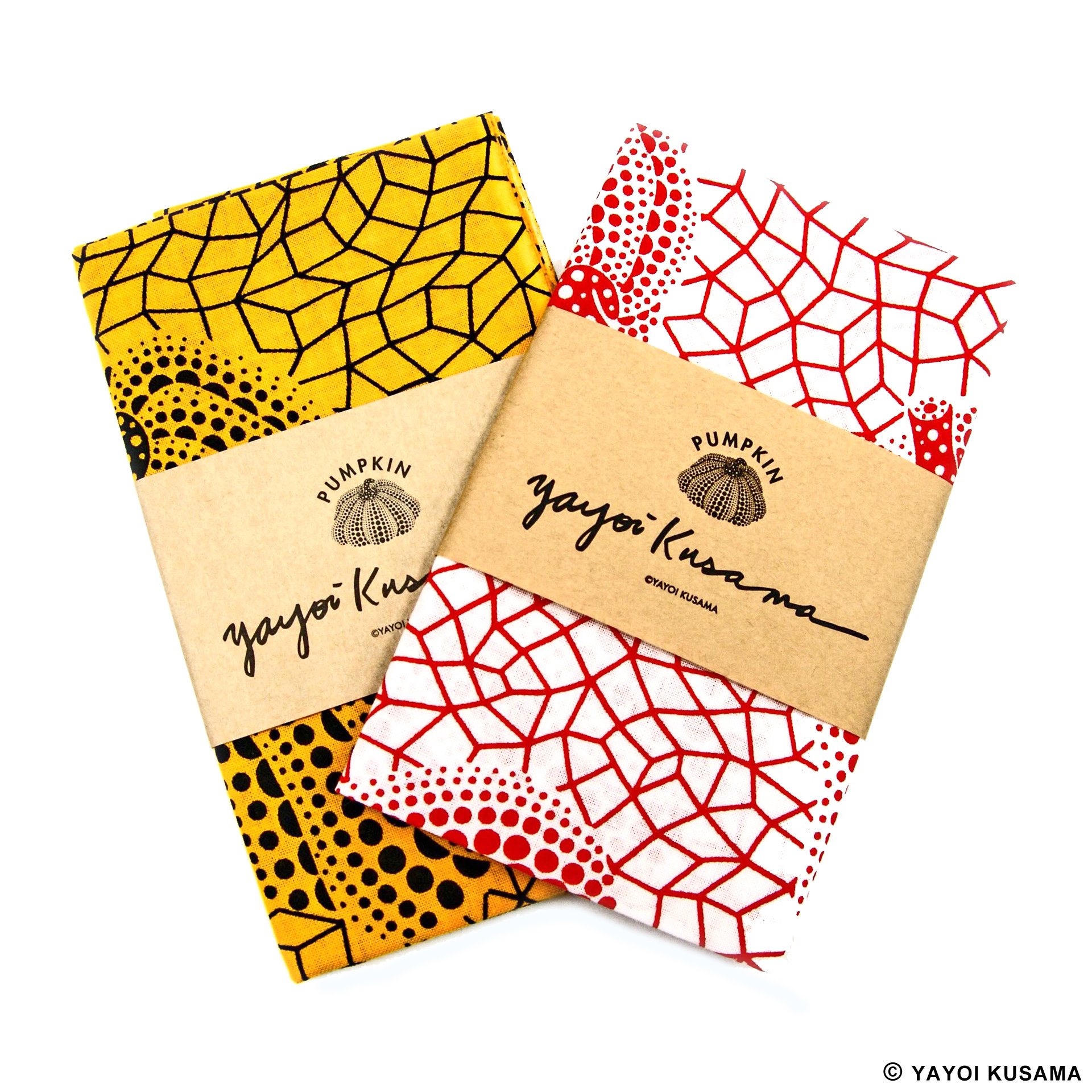 NEW YAYOI KUSAMA TENUGUI Cotton towel Mt.Fuj Japanese Traditional Handkerch