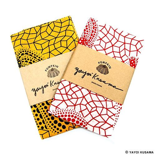 "[Yayoi Kusama Product] Pumpkin ""Tenugui"" Hand cloth"