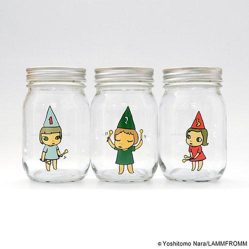[ Yoshitomo Nara Product ] Yoshitomo Nara Storage jar GARL (450ml)