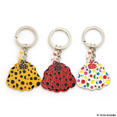 [ Yayoi Kusama Product ] Yayoi Kusama PUMPKIN Key Ring