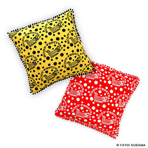 [ Yayoi Kusama Product ] Yayoi Kusama BODY FESTIVAL Cushion