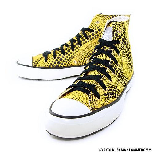 """Yayoi Kusama Sneakers """"Yellow Tree"""""""
