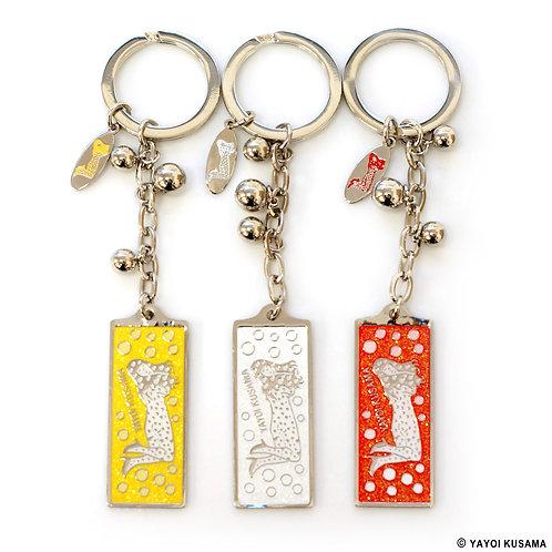 [ Yayoi Kusama Product ] Yayoi Kusama LOVE FOREVER Key Ring