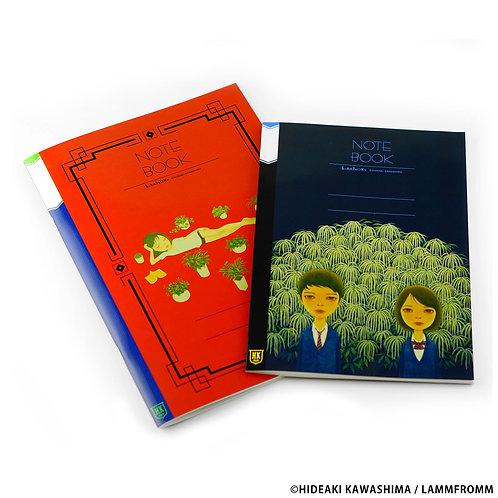 Hideaki Kawashima Notebook Set of 2