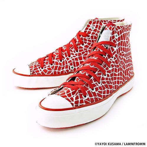 "Yayoi Kusama Sneakers ""Infinity Net"""