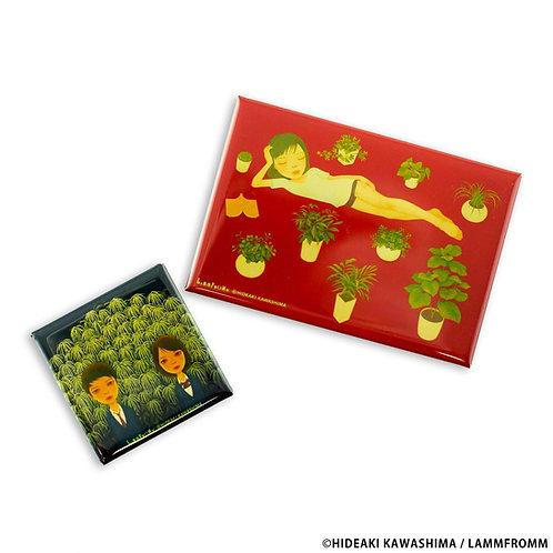 Hideaki Kawashima Magnet Set of 2