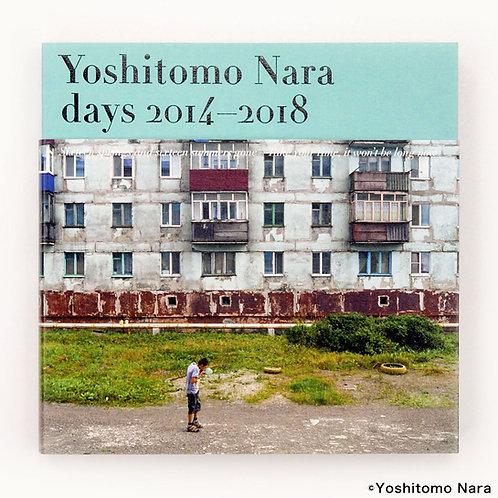 [ Yoshitomo Nara Book ] Yoshitomo Nara photo exhibition catalog [days 2014-2018]