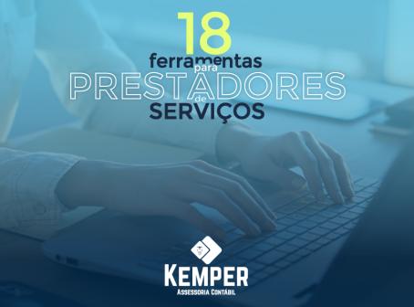 18 ferramentas para prestadores de serviços