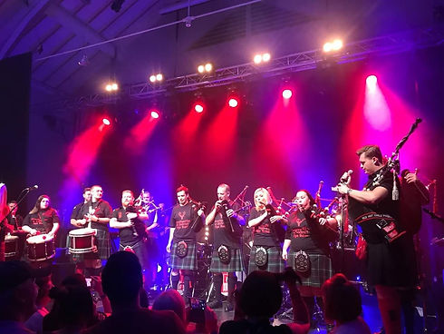 red hot chille pipers the strathpeffer p