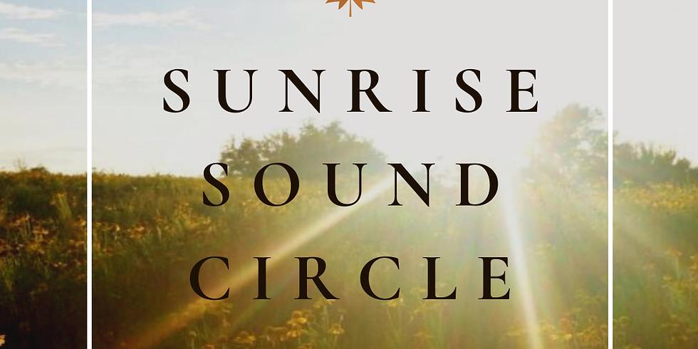 Sunrise Sound Circle   A Virtual Gathering