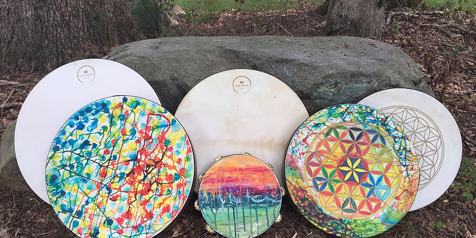 Paint Your Frame Drum To Be A Unique Expression Of You!