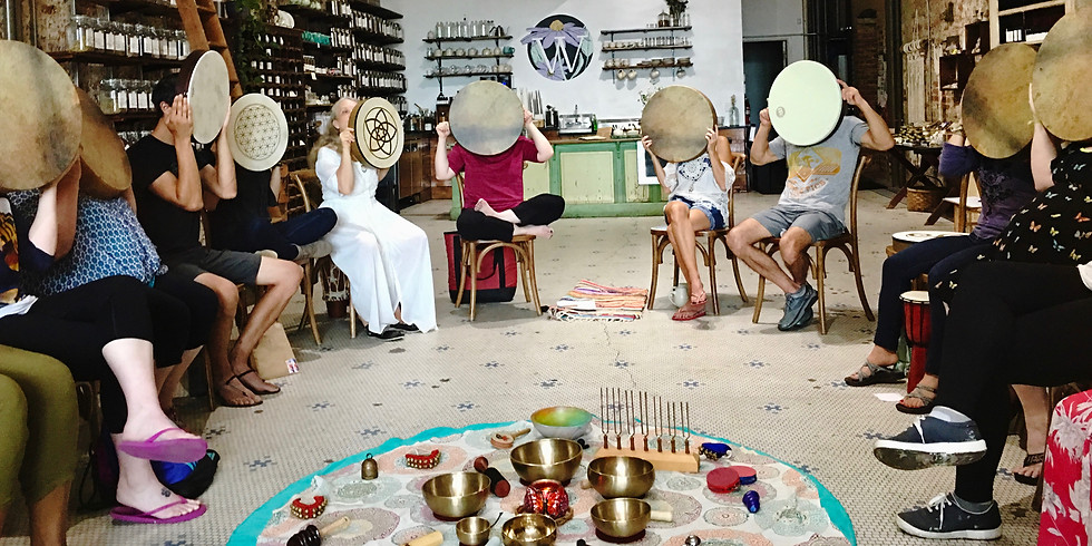 Your Voice Is Vital | Sing, Sound & Drum for Well-Being - Virtual Gathering (12pm Central)