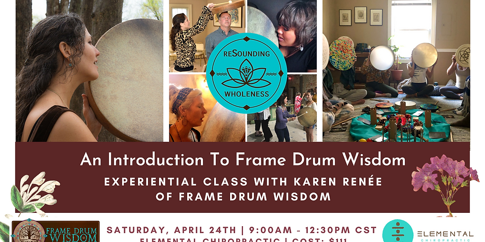 An Introduction To Frame Drum Wisdom | For Women*