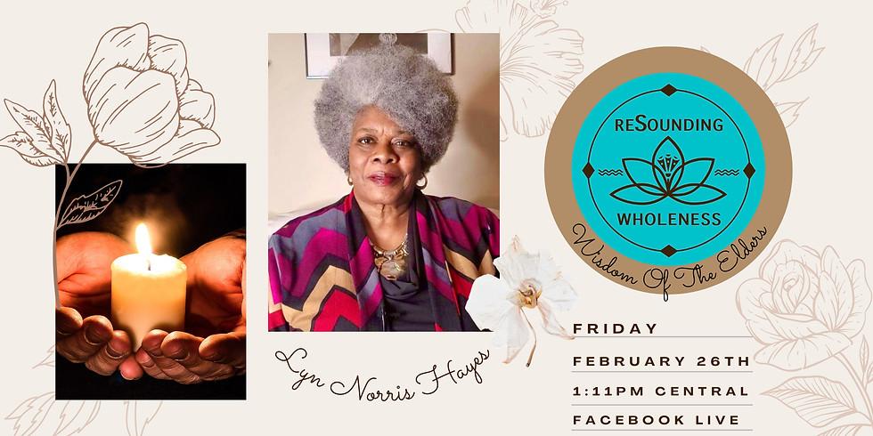 ReSounding Wholeness | Wisdom Of The Elders - Lyn Norris Hayes