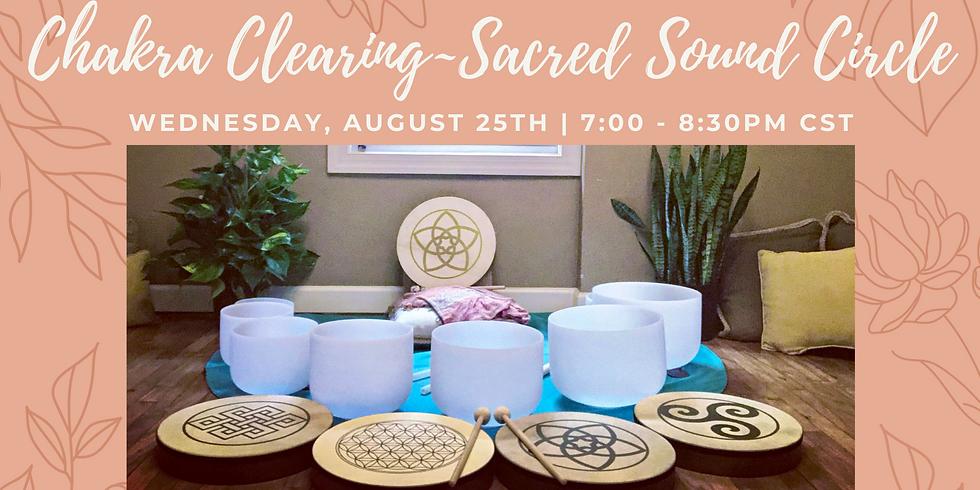 Chakra Clearing Sacred Sound Circle