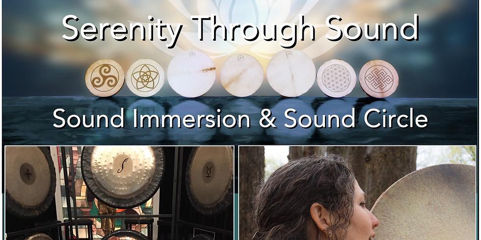 CANCELLED: Sound Immersion & Sound Circle | with Judy Bernard & Karen Renée