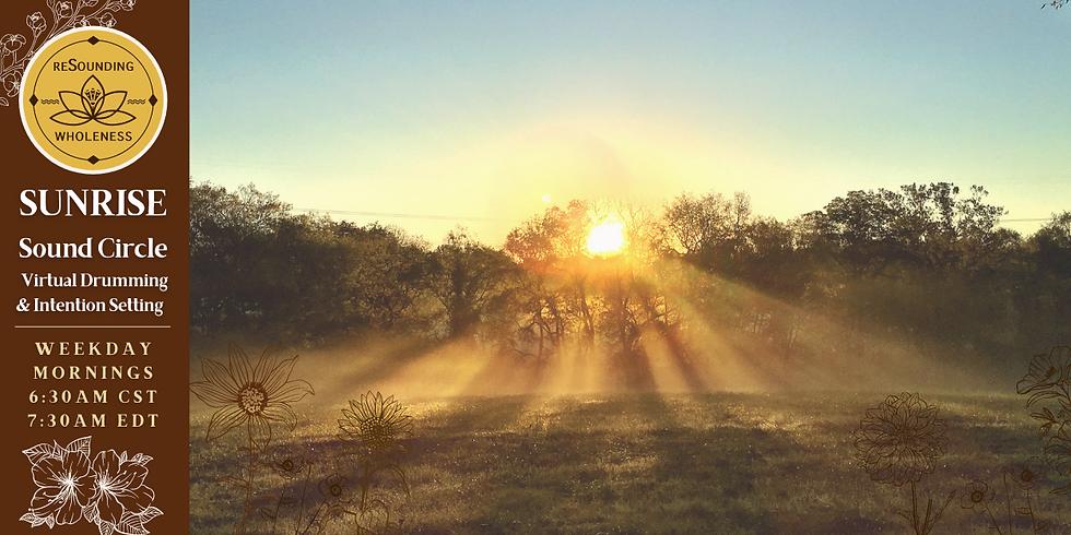 Sunrise Sound Circle | A Virtual Gathering - March