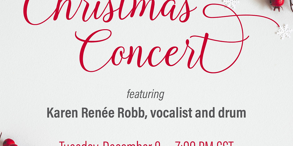 Scarritt Bennett Center Christmas Concert | Featuring Karen Renée Robb