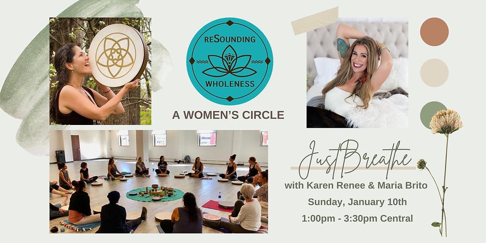 ReSounding Wholeness   A Women's Circle