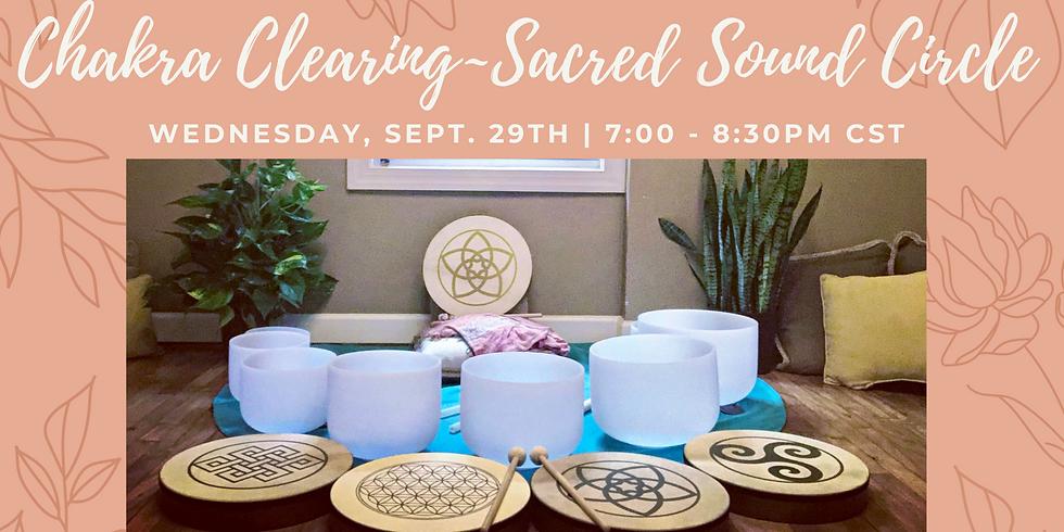 Chakra Clearing Sacred Sound Circle  ~ Nashville, TN