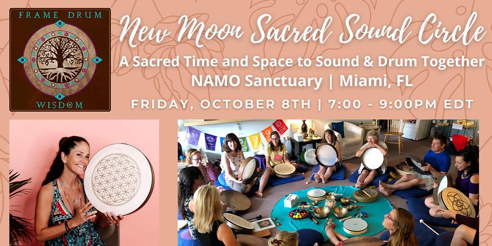 New Moon Sacred Sound Circle | Miami, FL