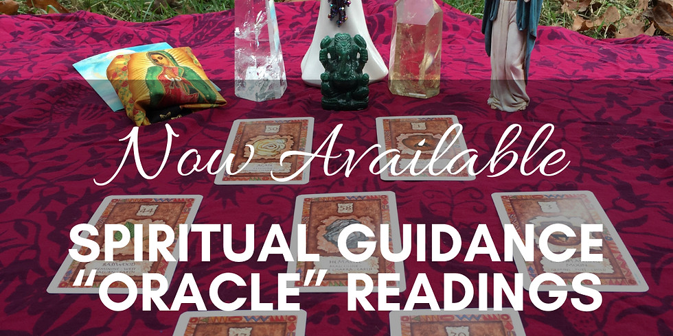 """Spiritual Guidance """"Oracle"""" Readings 