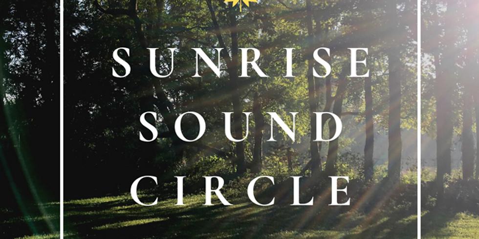 Sunrise Sound Circle | A Virtual Gathering