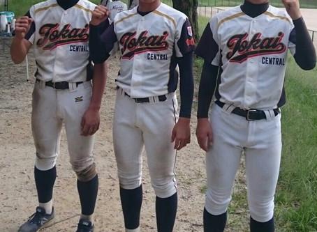 村瀬杯第25回ボーイズリーグ府県選抜野球大会、愛知県中央支部チームに3名が選出されました!