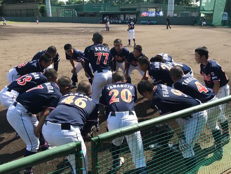 ジュニアチーム「第1回 山﨑武司旗争奪中学生ジュニア大会」閉幕。