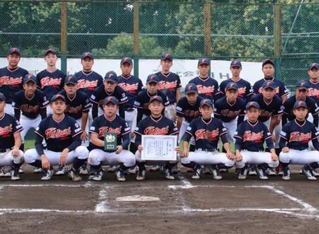 レギュラーチーム 第2回SSK旗争奪大会 準優勝にて閉幕。