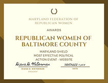 maryland federation of republican women.