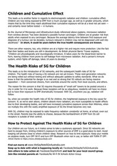 Health Risks of 5G for Your Child side 2
