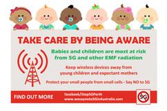 Be Aware Card - Children
