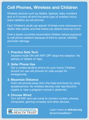 POSTER CellPhones, Wireless and Children