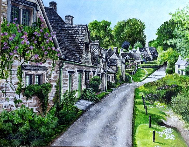 Bilbury, England, Landscape