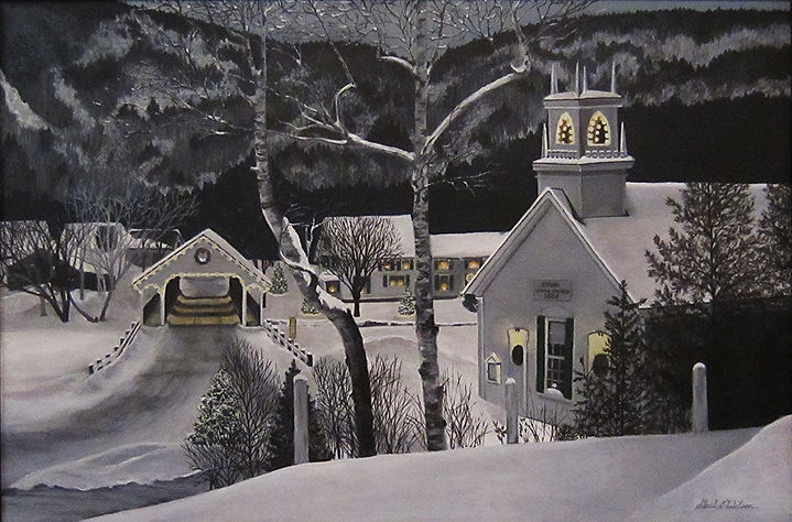 Stark, NH, Christmas
