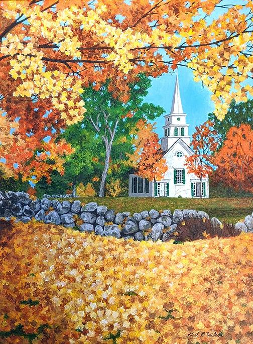 Church, Autumn