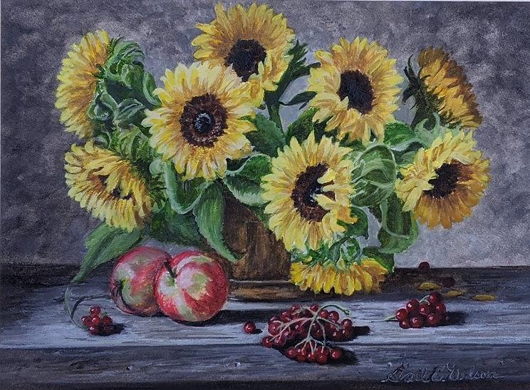 Sunflowers, Still Life