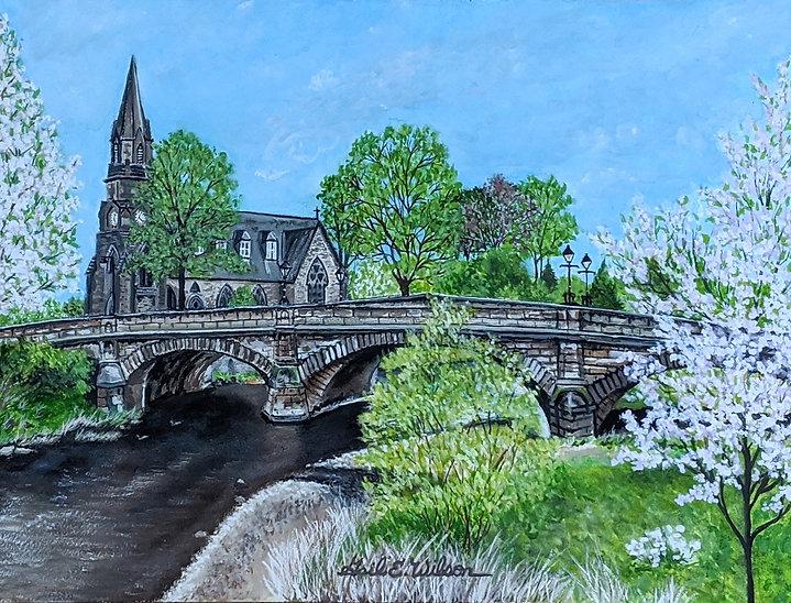 Morpeth, England, Bridge