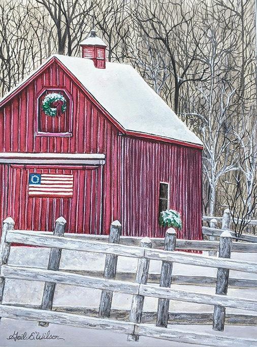 Red Barn, Christmas