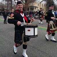 Greg Deely Enjoying His Drum